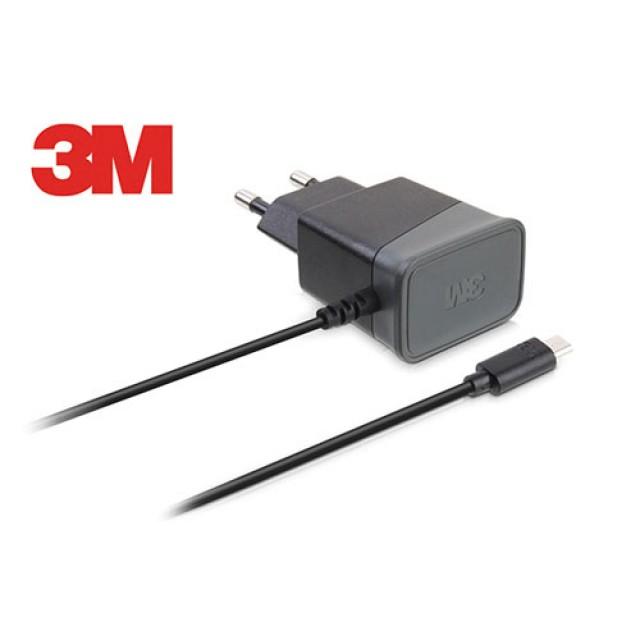 묶음상품/3M)일체형충전기(SPUL-Q21/Micro 5핀/2.1A/블랙)×6개