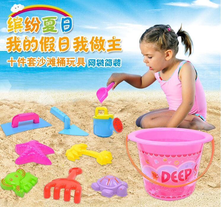[해외] 최신상 인기 아동용품 어린이완구 소꿉장난 비치모래놀이 흙놀이 10종세트