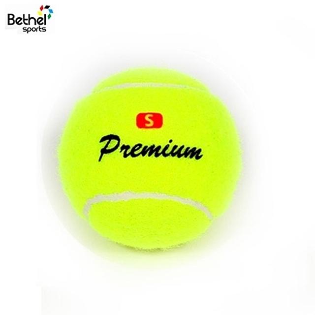 초보훈련용 연습시합용 테니스공(1개) [제작 대량 도매 로고 인쇄 레이저 마킹 각인 나염 실크 uv 포장 공장 문의는 네이뽕]