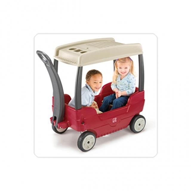 (스텝2 캐노피웨곤)대형완구 푸시카 지붕차 승용완구 장난감 수입완구 자동차