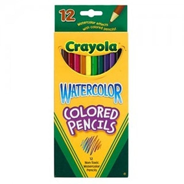 크레욜라 수채 색연필 24색 수채색연필 유아동 전문 미술용품